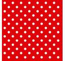 Napkin 33 Dots Red SE: 12
