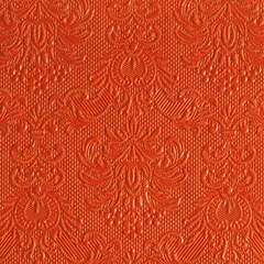 Napkin - 25x25 cm - orange - Papir