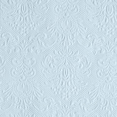 Napkin 25 Elegance Light Blue SE: 12