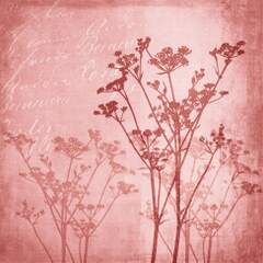 Napkin 25 Floral Harmony Red