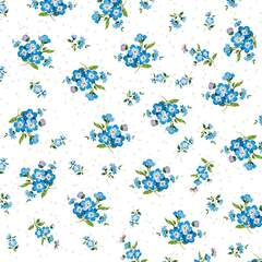 Napkin 25 Forget Me Not