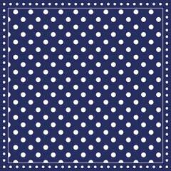 Napkin 25 Stripes Dots Blue FSC Mix