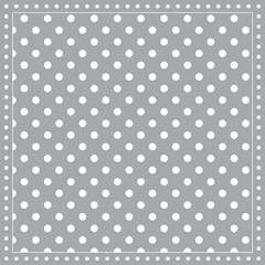Napkin 25 Stripes Dots Grey FSC Mix