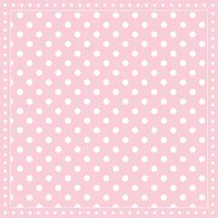 Napkin 25 Stripes Dots Pink FSC Mix
