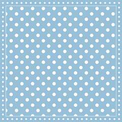 Napkin 25 Stripes Dots Light Blue FSC Mix