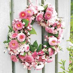 Napkin 25 Wreath of Bellies Rose #
