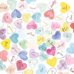 Napkin 25 Sweet Hearts FSC Mix