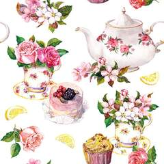 Napkin 25 Flower in Teacup FSC Mix