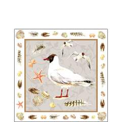 Napkin 25 Black Headed Gull Sand