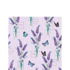 Napkin 25 Lavender With Love Lilac