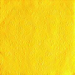 Napkin 33 Elegance Yellow