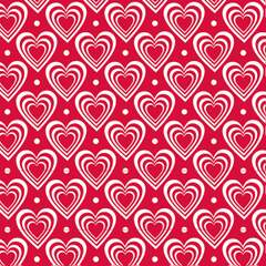 Napkin 33 Hearts In Hearts Red FSC Mix