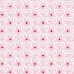 Napkin 33 Hearts In Hearts Pink FSC Mix