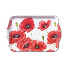 Tray Melamine 13X21cm Romantic Poppy SE: 6