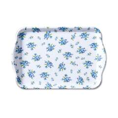 Tray Melamine 13X21cm Forget Me Not