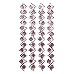 Strass stickers -  - pink - Plast