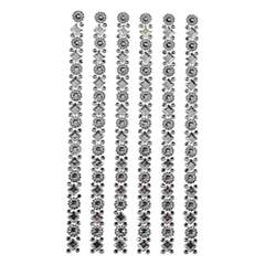 Strass stickers -  - clear - Plast
