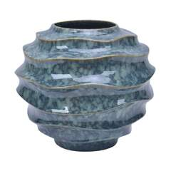 DEBORHA Vase D31 H27 reactive blue