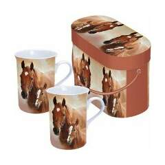 Mugs Giftbox Horse With Foal SE: 4
