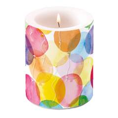 Candle Big Aquarell Balloons
