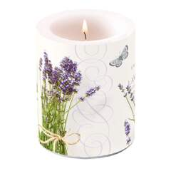 Candle Big Bunch Of Lavender