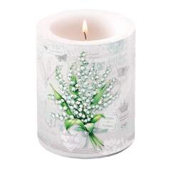 Candle Big Lily of the Valley
