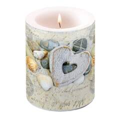 Candle Big Hearts And Stones
