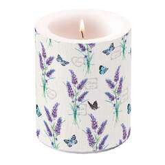 Candle Big Lavender With Love Cream