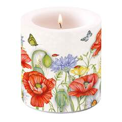 Candle Small Summertime White