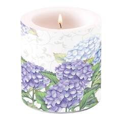 Candle Small Hortensia