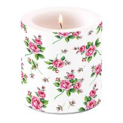 Candle Small Evelyn White