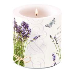 Candle Small Bunch Of Lavender