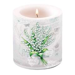 Candle Small Lily of the Valley