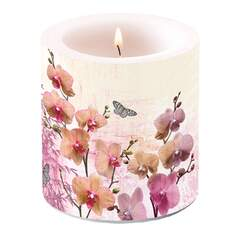 Candle Small Orchids Orient