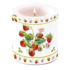Candle Small Fresh Strawberries