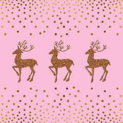 Napkin 33 Deer And Dots
