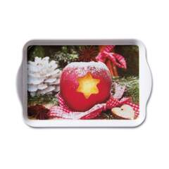 Tray Melamine 13X21cm Apple SE: 6