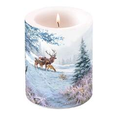 Candle Big Deer Family
