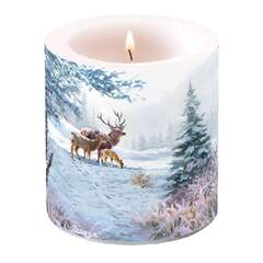 Candle Small Deer Family
