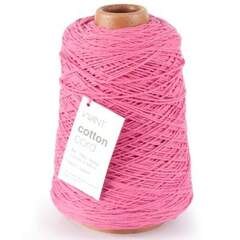 Bomullssnor 2mm 500m cerise SE: 1